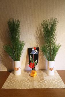 玄関のお正月飾り.jpg