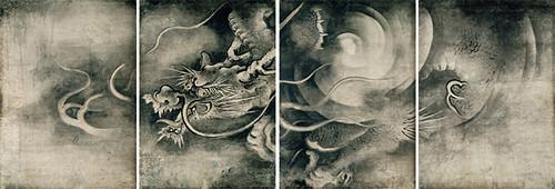 雲龍図(左)